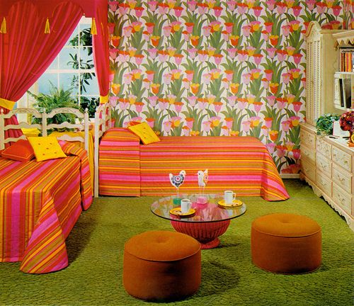 Decorating Ideas # Dream Scheme I (1968) Photo By Bill Margerin For Seventeen