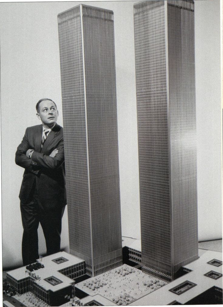First Model of the World Trade Center...