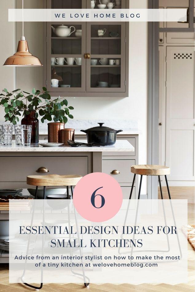 6 essential design ideas that every small kitchen needs Kitchen