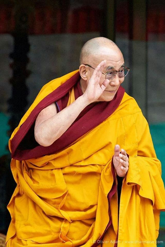 His Holiness, the 14th Dalai Lama ..*