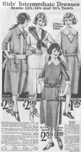 Teenage Girls Fashion in the 1920s