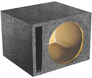 Making your subwoofer sound like a million dollars is what the 15 Inch Subwoofer Box by QPower is all about and it is also sold at a fair price.