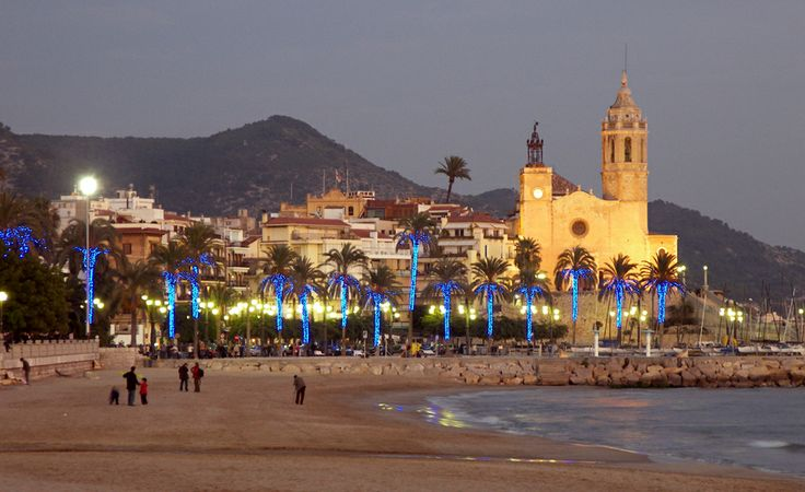 Navidad en la playa en sitges sitges en navidad - La casona sitges ...