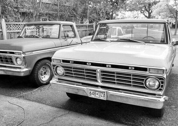 My fleet 1973 f100 trucks ford girls with trucks old trucks surfer girl