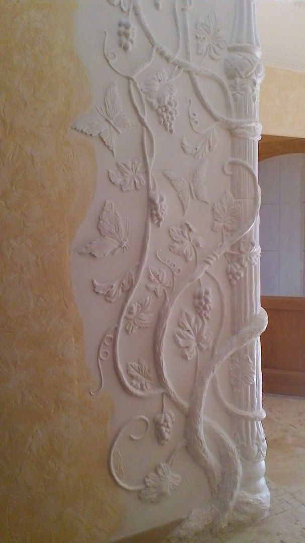 295 best Plaster Stencilling and Design images on ...