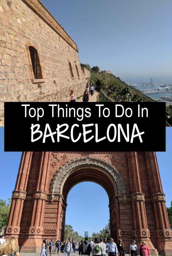 Top 10 Attractions In Barcelona With Photos Europe Travel