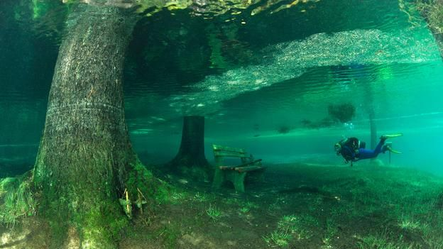 Headed to Austria? Of course you'll want to bring your dive gear...