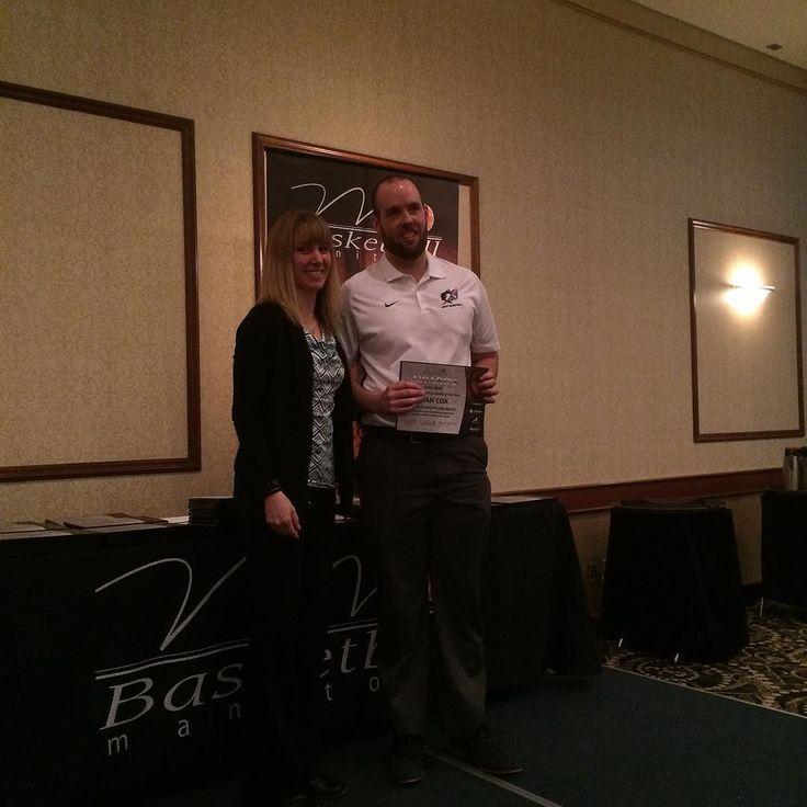 Basketball MB Awards jv coach of the year David Waller