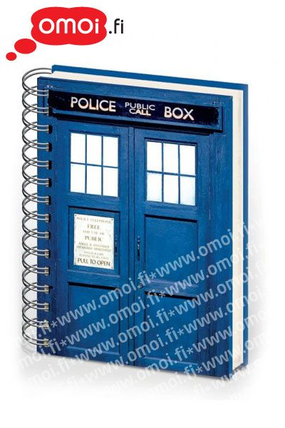 Doctor Who Tardis A5 Note Book - 6,00EUR : Manga Shop for Europe, A great selection of anime products