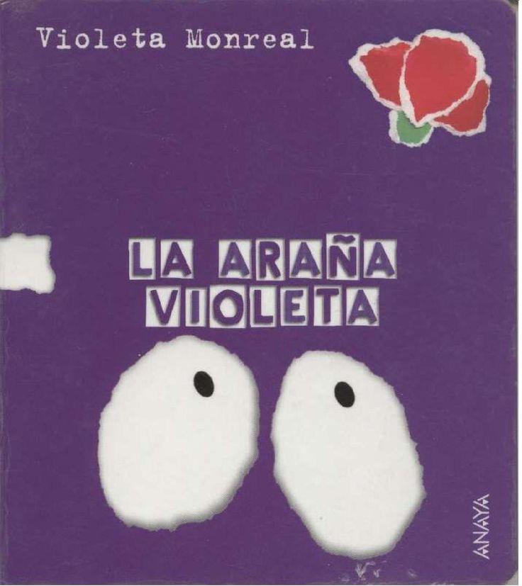 La araña violeta  Libros Infantiles