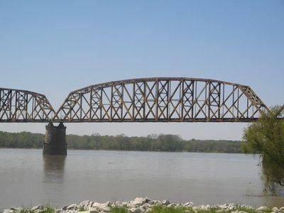 Railroad Bridge over Ohio River in Sciotoville