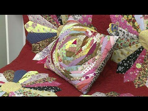 Vida com Arte | Capa para almofada em patchwork por Eliana Maria Yazbek ...