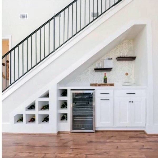 Short Stairs Ideas: Top 70 Best Under Stairs Ideas - Storage Designs