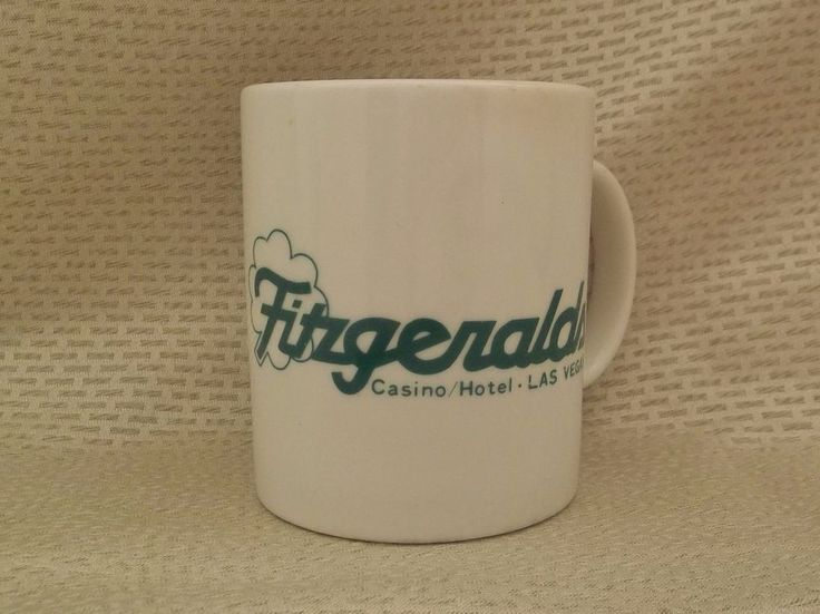 Fitzgeralds Casino Hotel Las Vegas Mug Coffee Cup - Closed Casino