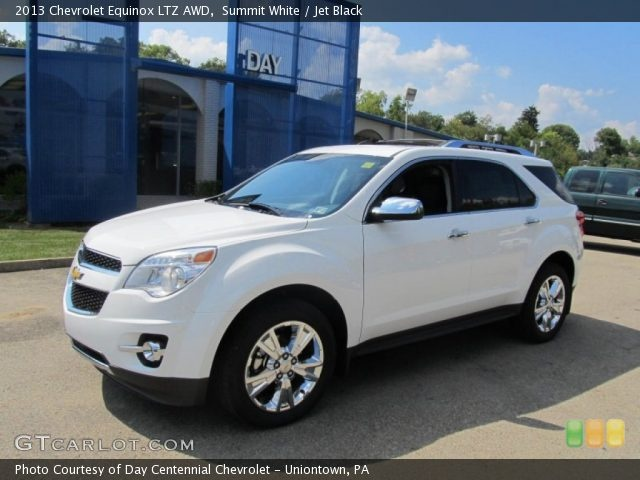 2013 Chevy Equinox Ltz | 2013 Chevrolet Equinox LTZ AWD in Summit White. Click to see large ...