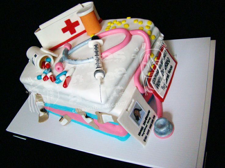 nurse cake My Life as a Registered Nurse Pinterest ...