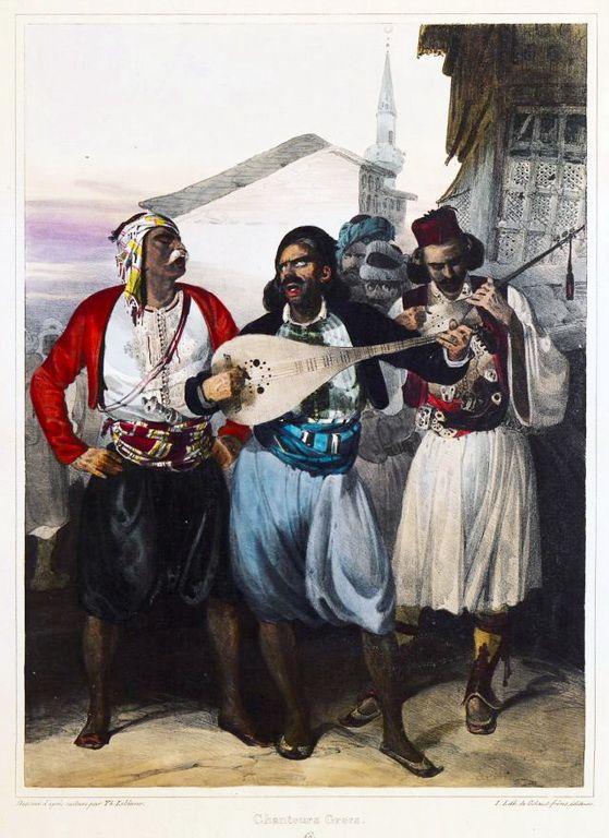 Theodore Leblanc (1800-1837)-Μουσικοί, 1833