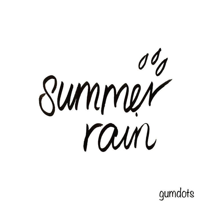 summer rain  . I was singing Belinda Carlisle whilst jumping over the puddles I. The rain today. Perth has just had the coldest February day in 103 years and its second rainiest day ever. No summer heatwave over this end of the continent! . . . . . . . . #summerrain #rainyday #handwritten #handwriting #perthsummer #summerdays #perthisok #lettering #handlettering #brushlettering #raindrops #songlyrics #quote #lyrics #songwords #februaryrain