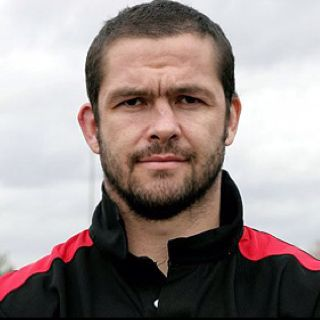 Andy Farrell, my first rugby hero when he played for Wigan Warriors rugby league team.