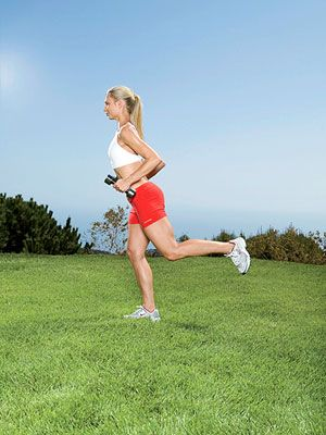 Lose Baby Weight with Strength and Cardio Exercises