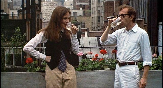 Diane Keaton rocking masculine chic in Annie Hall.