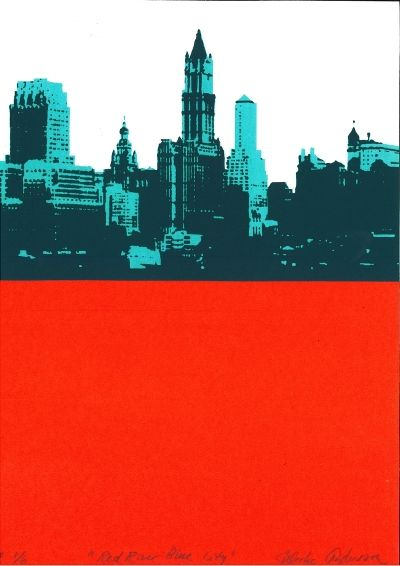 Ulrika Andersson - Red river Blue city