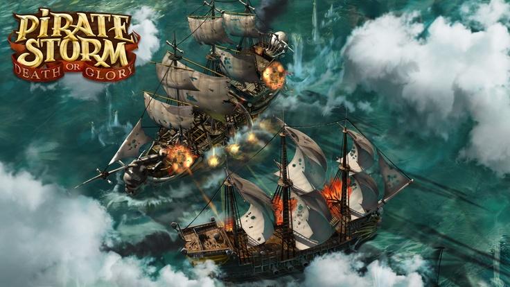 Obrázky z mmorpg hry Pirate Storm