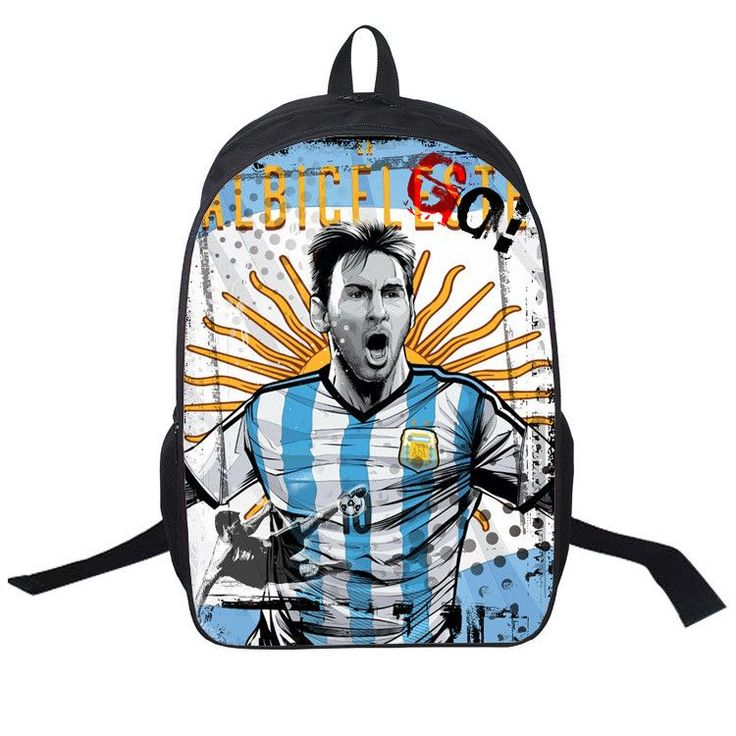 Messi Suarez NeymaRonaldo 3D Printing Backpacks For Teenagers Boy Men's School Backpacks Child Laptop Shoulder Bags Kids Mochila