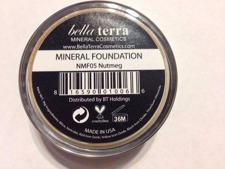 Item specifics    									 			Condition:  												 																	 															  															 															 																New: A brand-new, unused, unopened, undamaged item (including handmade items). See the seller's  																  																		... - https://lastreviews.net/health-beauty/makeup/bella-terra-cosmetics-mineral-foundation-nutmeg-8g/