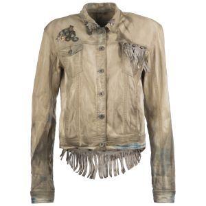 Bestel nu Grijze Karma of Charme jacket frange Jassen online bij Van den Assem Schoenen. Gratis verzending en retour. Binnen 1 tot 3 werkdagen.