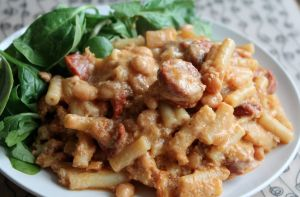 Skinny Chorizo Mac n Cheese - slimming world friendly, 3 syns