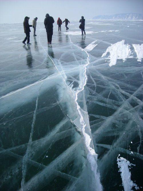 Frozen Lake, Russia