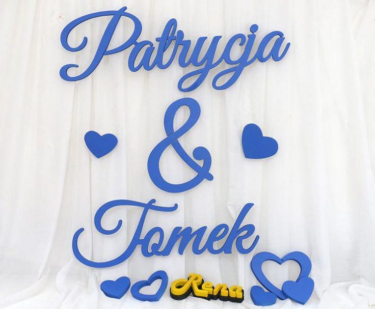 Ślubne imiona dla Młodej Pary – Patrycja & Tomek