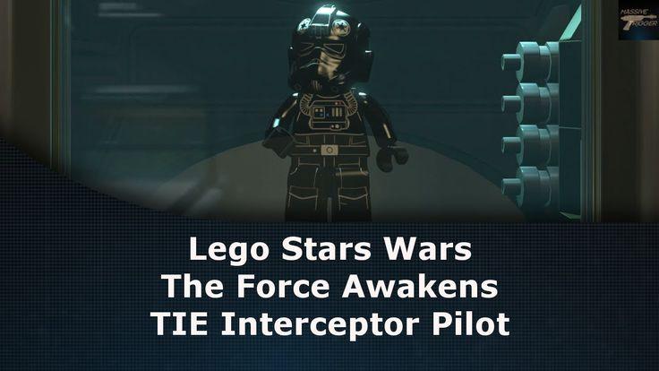 Lego Star Wars The Force Awakens TIE Interceptor Pilot Unlock Location