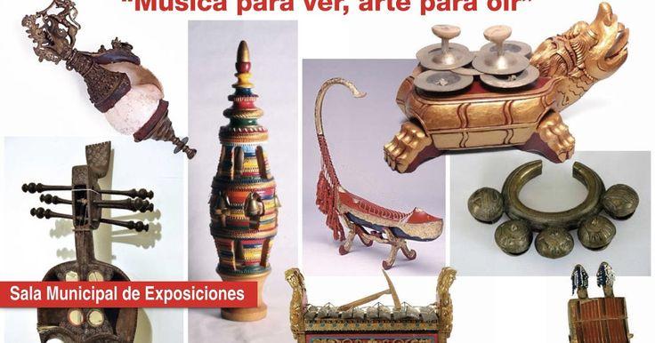 Agenda   Una exposición reúne 85 instrumentos de música tradicional en la Biblioteca Central