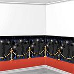 Red Carpet Backdrop Scene Setter - 12.5m