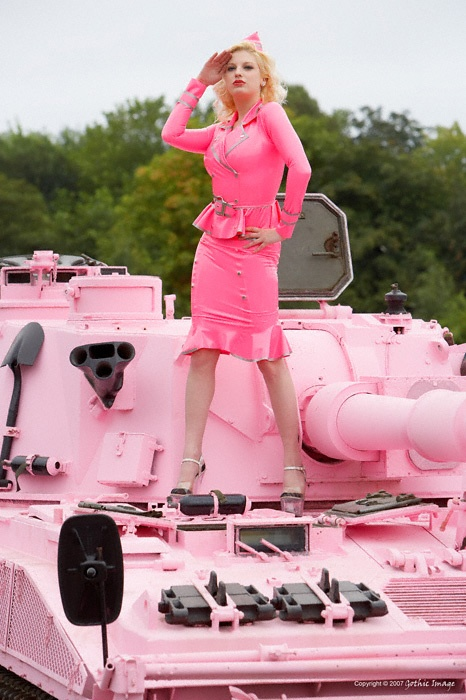 gothicimage: The Pink Tank