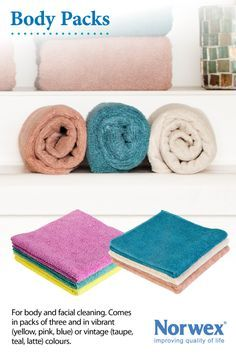 Norwex Enviro Cloths are AMAZING! Replace face wash, soap, body wash with just these cloths!   https://thesmitylife.com/norwex-enviro-cloths-are-amazing