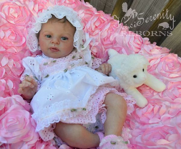 Larry Blick now named Lilly brought to life by BABY BANTER  member Judy at kiwiserenity Reborns