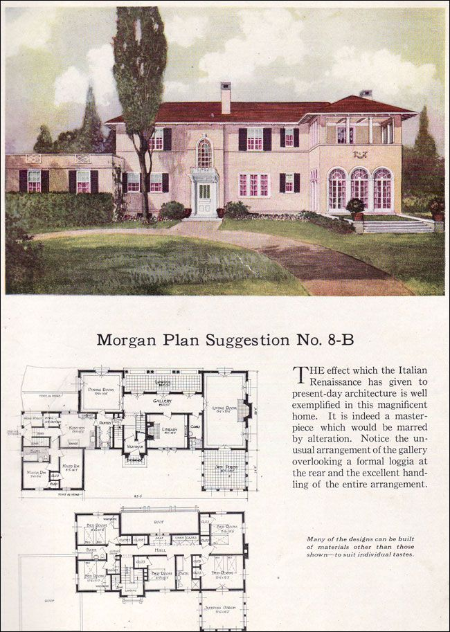 Best 25 vintage house plans ideas on pinterest bungalow for Renaissance homes floor plans