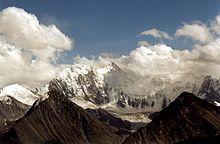 Le mont Belukha dans les montagnes de l'Altaï