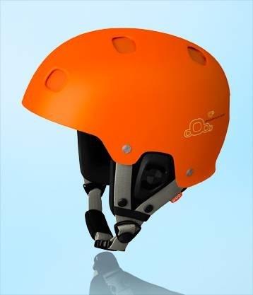 POC Receptor Bug Ski Snowboard Helmet in Flourescent Orange