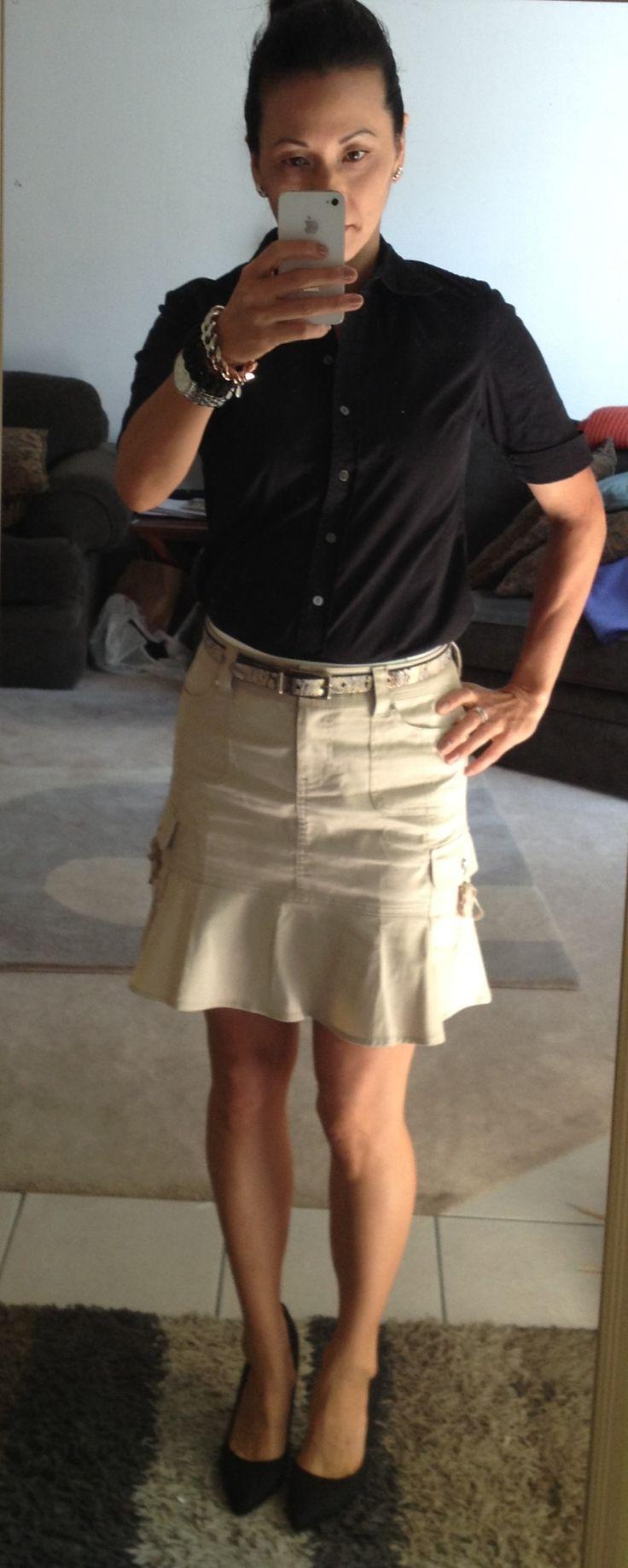 13 best Cotton / Linen Short Skirts images on Pinterest