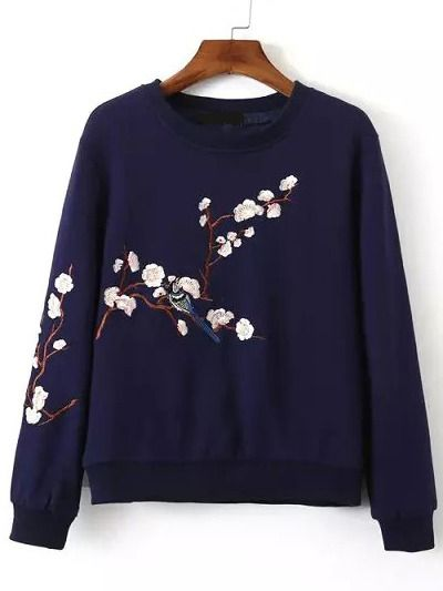 Great embroidery on the sweater, love it! Also a nice pop of color. Looks so comfy and pretty with the boots.