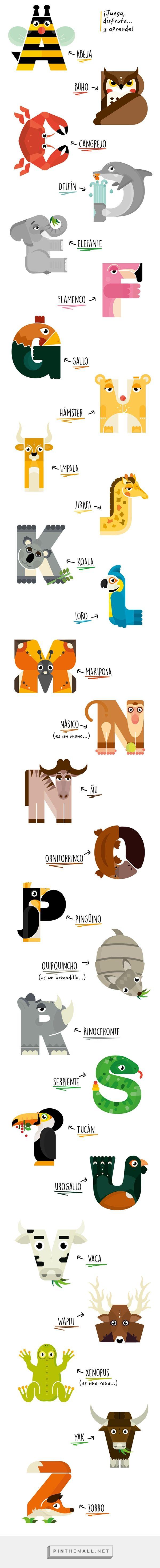 Animalario - Animal Alphabet | Fivestar Branding – Design and Branding Agency & Inspiration Gallery