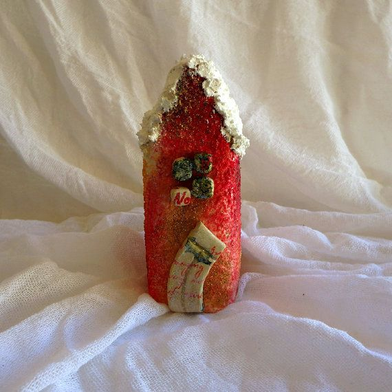 Vintage Christmas decor ceramic ornament Christmas decoration home and living holiday decor fairytale atmosphere joyfull decoration