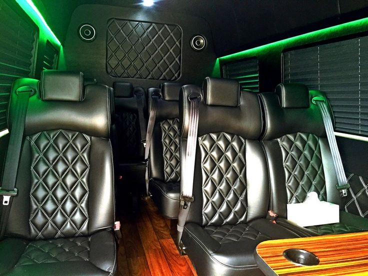 Vehicle: Mercedes Sprinter 2015  Up to 14 passengers  Chicago To/From Airport – $225 (+ $36 for airport pickups only)  Hourly service: $150.00/hour (3 hours minimum)  Gratuity, all taxes and fees are included