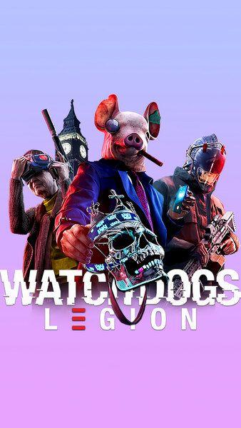 Watch Dogs Legion 4k Hd Mobile Smartphone And Pc Desktop Laptop Wallpaper 3840x2160 1920x1080 2160x3840 1080x1920 Watch Dogs Dogs Skateboard Art Design
