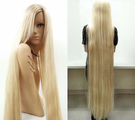 Super Long 60 Inch Blonde Rapunzel Style Wig By