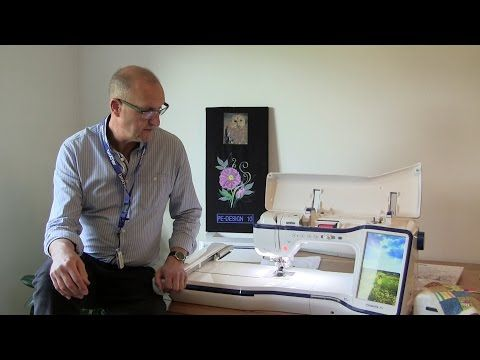 Instant Digitizing on THE Dream Machine by Brother - YouTube
